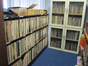 Lots of jazz vinyls