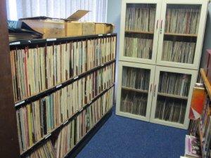 Lots of jazz vinyls