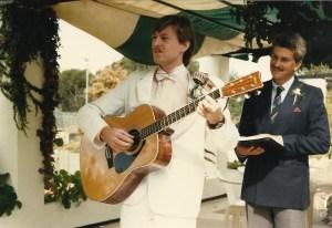 Tony singing