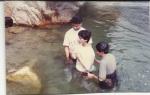 Chandra's baptism