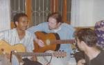 Hiram with Tony