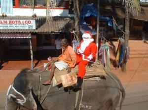 India- Where Rudolf makes NO sense.